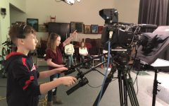 Green screen turns Matthew Thornton students into newscasters
