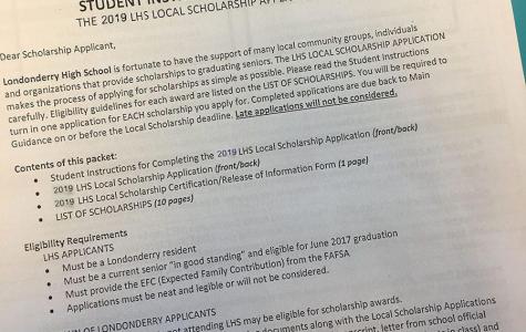 FAQs on senior scholarships.  Deadline is tomorrow.
