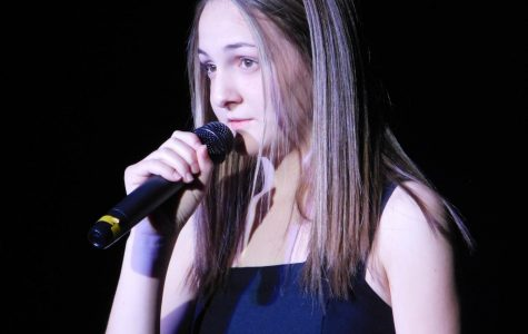 Students perform in annual coffee house