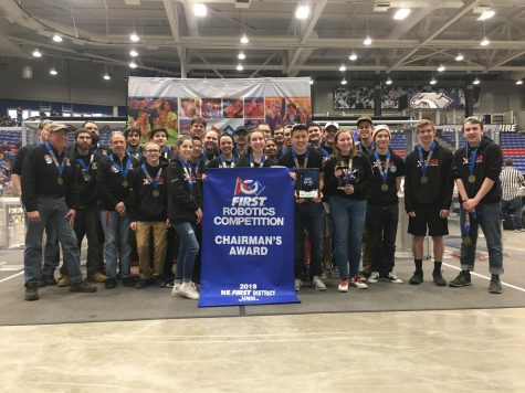 Robotics team inspires community