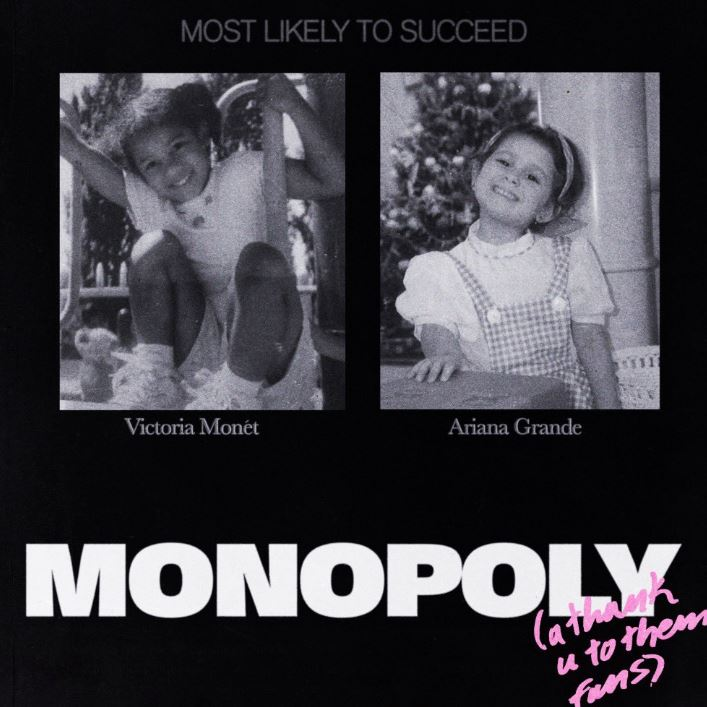 "Ariana Grande collaborates with Victoria Monét on ""MONOPOLY"""