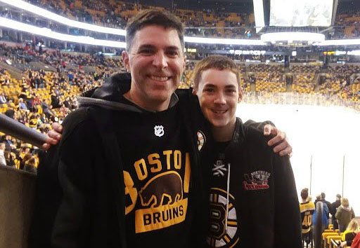 Teacher by day, die-hard Bruins fan by night: history teacher Courtemanche impacts his students