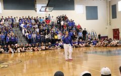 Mr. Juster announced today that all seniors are invited to the 2021 Spring Pep Rally.