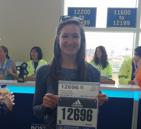 Teachers run in the 123rd Boston Marathon