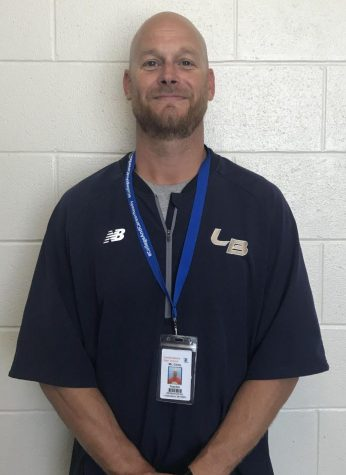 Physical education teacher Mr. Carey