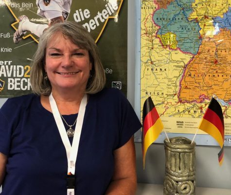 German teacher Mrs. Wilkins