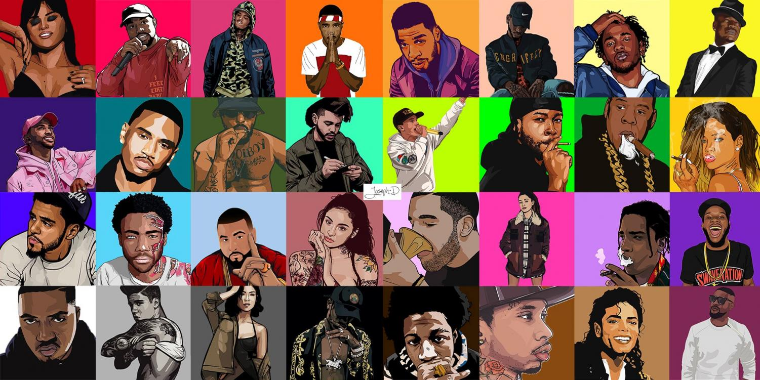 Raps hottest artists of 2019, many of which are featured in this article.