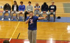 Seniors act out at last night's Hypnotist Show