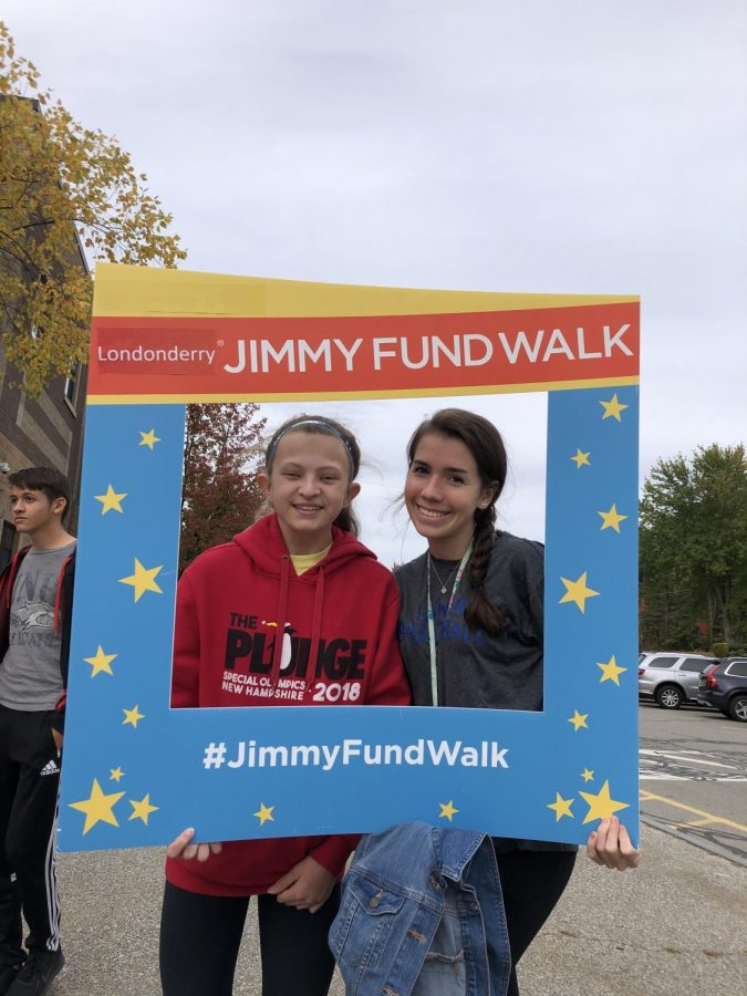 Lancers help fight cancer with the Jimmy Fund Walk