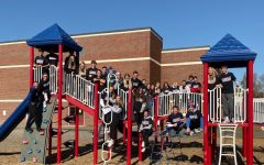 LHS athletes join Mathew Thornton students in Recess Academy