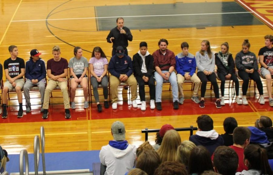 Get ready to see seniors get silly at this year's hypnotist show