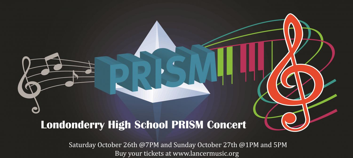 The Prism Concert is an annual music department fundraiser.