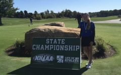 Anderson scores low, wins big at golf state championship