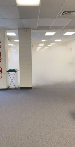Continued coverage: Fire extinguisher discharge calls for school evacuation
