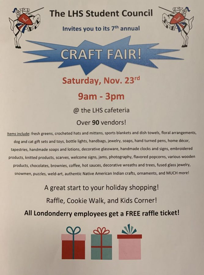 Student Council hosts seventh annual craft fair