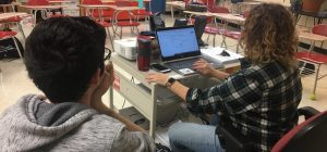 Students in new multimedia class get behind mics, cameras to get news out