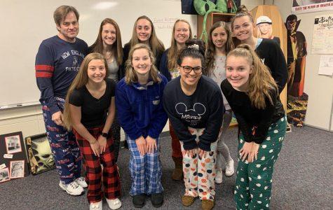 Lancers get sleepy on pajama day