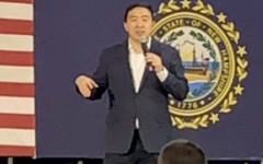 Andrew Yang visits Londonderry community
