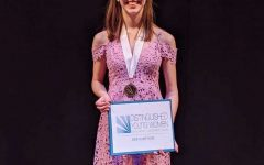 Senior sweeps scholarship competition
