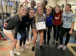 Senior Gia Komst wins NHSSCA All American award