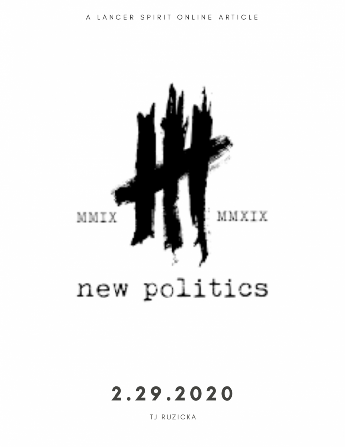 New Politics preach new way of thought with alternative rock