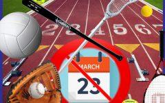 Spring athletes react to delayed start to season