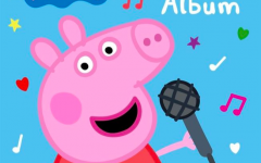 Peppa Pig poses for the cover artwork of her debut record, 'My First Album.' The record was released July 19, 2019, and features 16 tracks.
