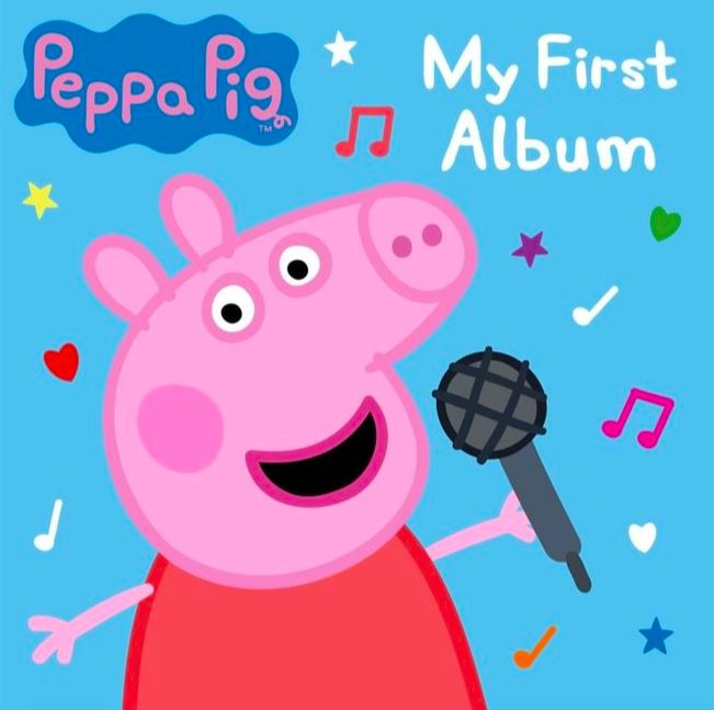 'My First Album': Peppa Pig commits to activism