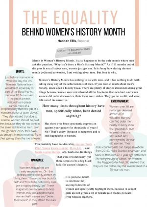 Infographic: The equality behind Women's History Month