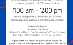 LHS Dining Services offer drive through meals