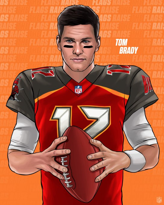 Tom+Brady+edited+into+a+Bucs%27+uniform.+He+signed+a+two+year+contract+with+the+team.