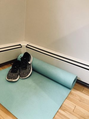 Chloe Ting's workouts require minimal preparation and can be done from the comfort of  your own home. All that is needed to complete a program is an optional yoga mat and sneakers.