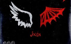 Jaden uses Angel and Demon wings to symbolize the meaning of his second single.