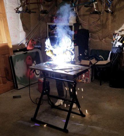 Megan Landry shows off her process of creating beautiful metal art.