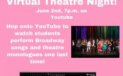 Join the LHS Drama Club's virtual Theatre night June 2 at 7:00 pm.