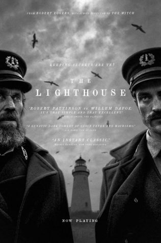 A poster for 'The Lighthouse.'