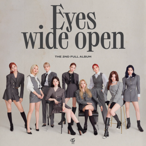 TWICE pose for the cover of