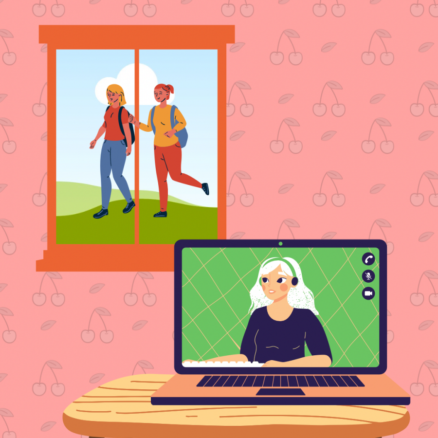 Spending so much time at home can be a difficult thing to do, but is a safe option with the least amount of exposure. It can be tough not being with friends, but it's for the sake of friends to keep them safe as well.
