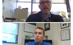 During remote learning, editors Laura Haas and Courtney Clark met with Assistant Superintendent Dan Black and Principal Jason Parent over Google Meet for an interview. In the meeting they discussed the decision admin made to have students return to a hybrid model of school.