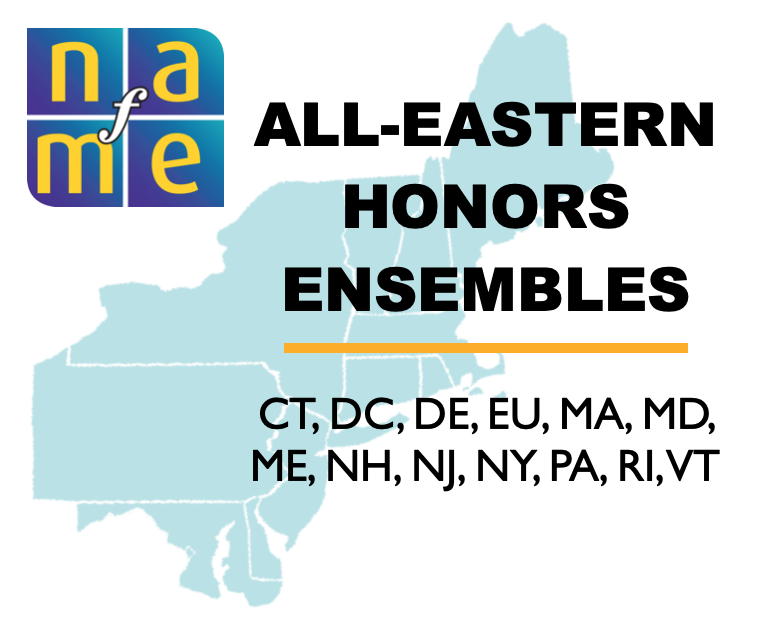 This year three students from LHS will be participating in the NAfME's All-Eastern Honors Ensembles