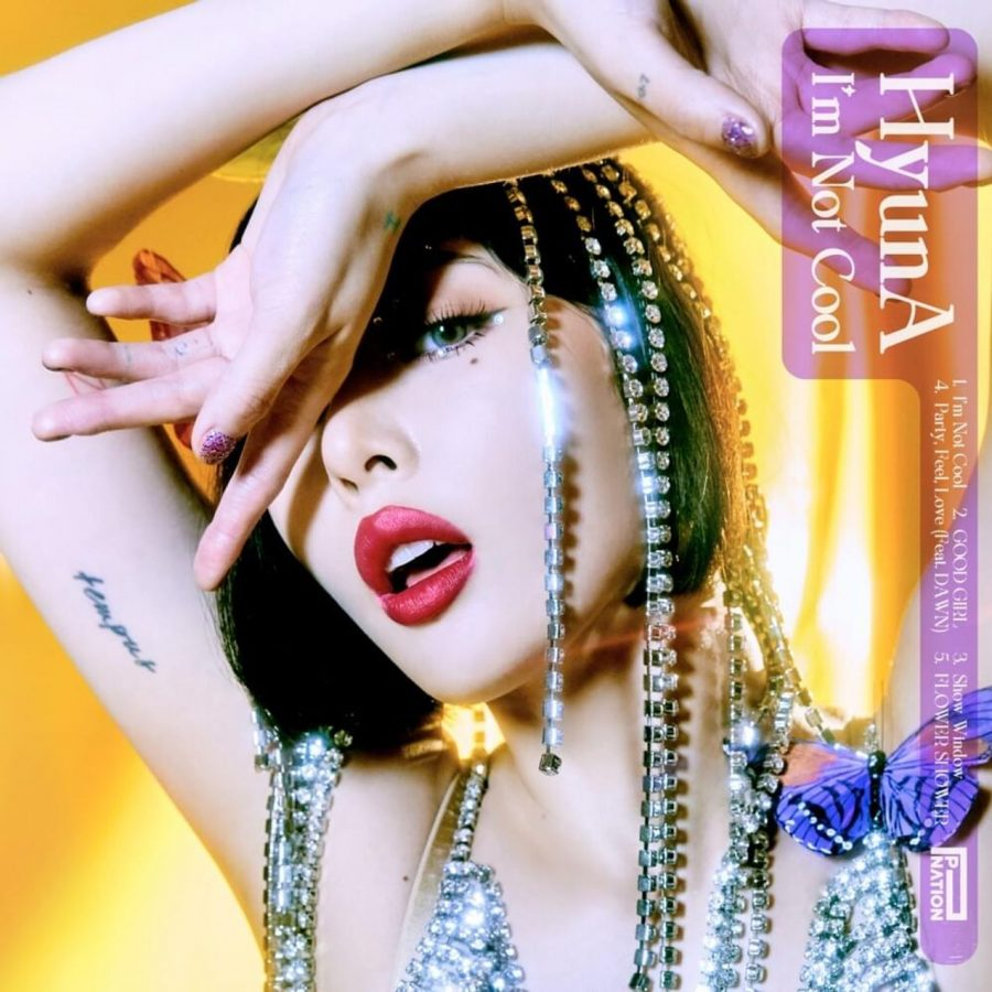 Released Jan. 28, 2021, 'I'm Not Cool' is HyunA's first comeback since 2019. This is also her first mini-album as a solo artist in three years.