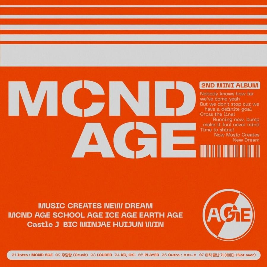 'MCND AGE,' released Jan. 8, 2021, is MCND's second comeback since their debut, as well as their third mini-album.