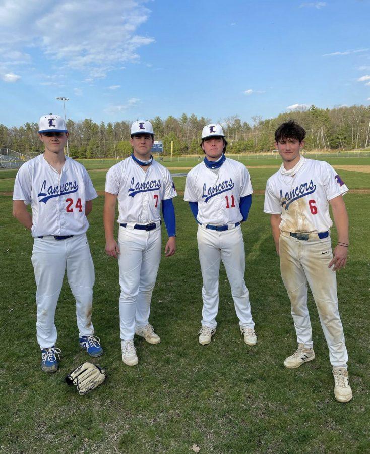 Lancer baseball's 2021 varsity baseball roster