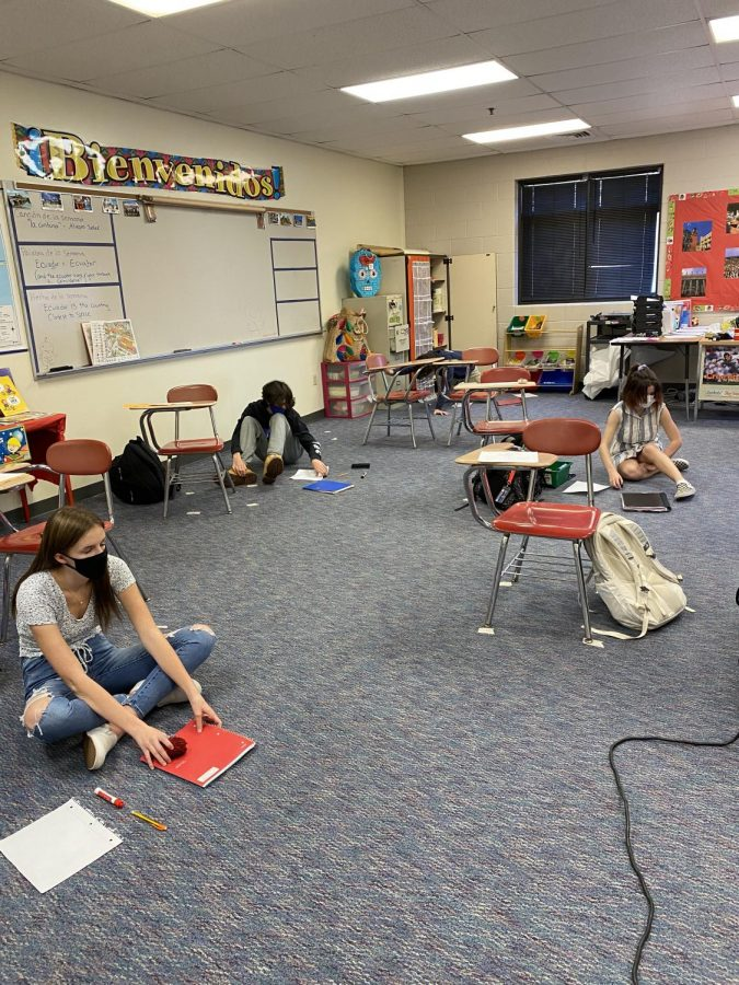 LHS teacher Mrs. Morse reinvents her classroom to help students learn