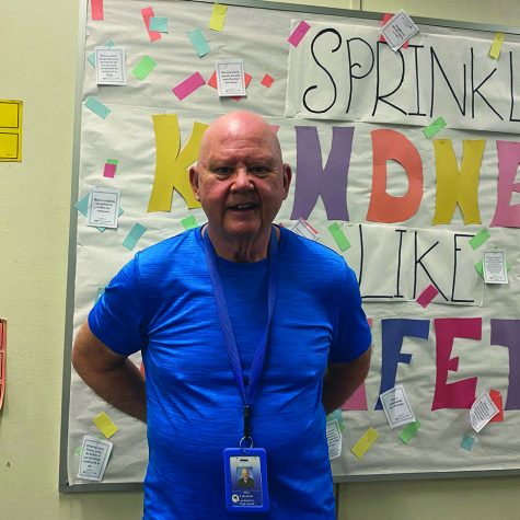Special Education teacher Alan Labranche prepares to leave behind his classroom and school of 17 years to create new memories.