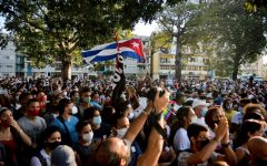 Cubans take to the streets to protest against their government in hopes to attract international aid and intervention.