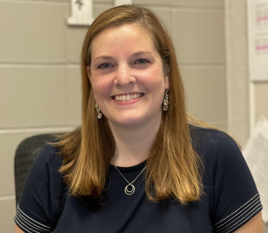 House three welcomes the new positive energy: Mrs. Kaitlin Burkhardt.