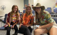 Seniors Makenna Lord, Talia Ferguson, and Kendall Wilson