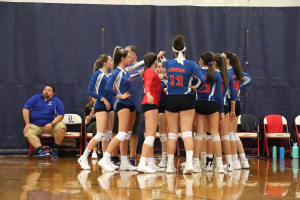 Photo used with permission from Londonderry varsity volleyball.